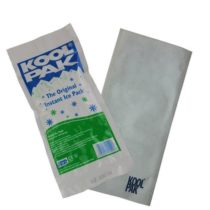 20x Koolpak Instant Ice Packs Sports First Aid Cold Therapy – with Koolpak Sleeve/Cover