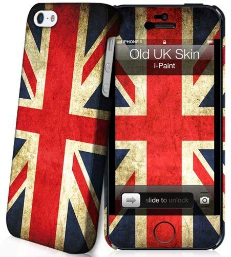 i-Paint Old UK Hard Case with Skin for iPhone 5/5S