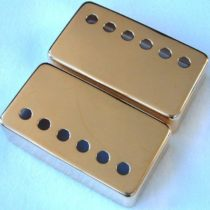 'Allparts PC 0300/W02 Humbucker Case Replacement Small Parts for Electric Guitar Gold