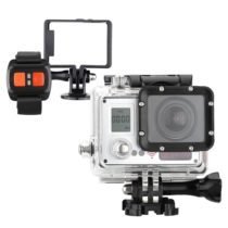 AMKOW AMK7000S 2.0″ LCD Action Sports Camera Wifi 4K(4096 * 2160) 10fps 1080P 60fps Full HD 20MP Waterproof 40m 170°Wide Angle with Remote Control Watch + Andoer 8GB Memory Card TF Card