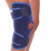 66fit Open Patella Knee Support – Medical Sports Injury Sprain Pain Relief Brace