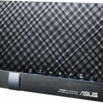 ASUS DSL-AC56U AC1200 Wireless Dual-Band VDSL/ADSL 2 + Gigabit Modem Router, 2 USB ports for 3G/4G Support, Media/FTP server for Phone Line Connections (BT Infinity, YouView, TalkTalk, EE and Plusnet Fibre)