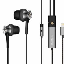 1MORE Dual-driver n-Ear Earphones In-Ear Digital Noise Cancelling(ANC) Hi-Res Audio Earbuds with Mic and Remote Control Lightning Connector foriPhone 7, iPhone 8, iPhone X, iPod