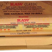 10 x Raw Connoisseur Papers Tips Per Pack