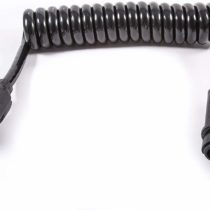 13 Core, 13 Pin to 13 Pin Spiral Extension Lead – 1 m WL