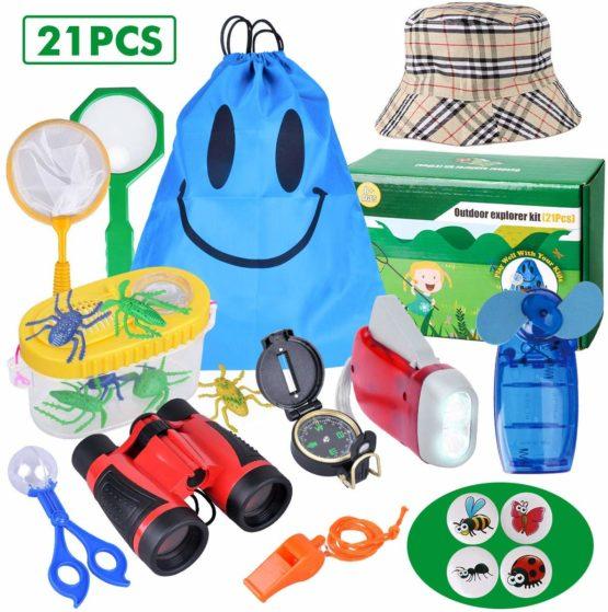 Outdoor Explorer Kit - 21 Pack Kids Bug Catcher Toys Gifts ...