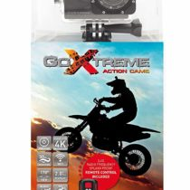 'GoXtreme Enduro Black Action Camera 4K, Real 2,7K at 30fps, Full HD to 60fps–with Remote Control, 2/5cm display, WiFi Black
