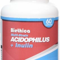 Biethica Acidophilus with Inulin Supplementary Capsules, 60-Count
