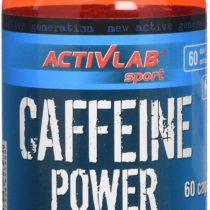 Activlab Caffeine Power 60 Capsules, Natural