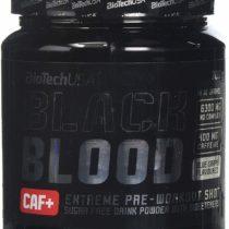 Bio Tech USA Black Blood CAF Plus Supplement, 300 g, Blue Grape