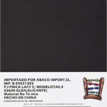 Abaco 331 Pack of 10 EVA Foam Sheets, 26 mm Thick, 20 x 30 mm, Black
