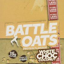 Battle Snacks Flapjacks, 70 g, White Chocolate Coconut, 12-Count