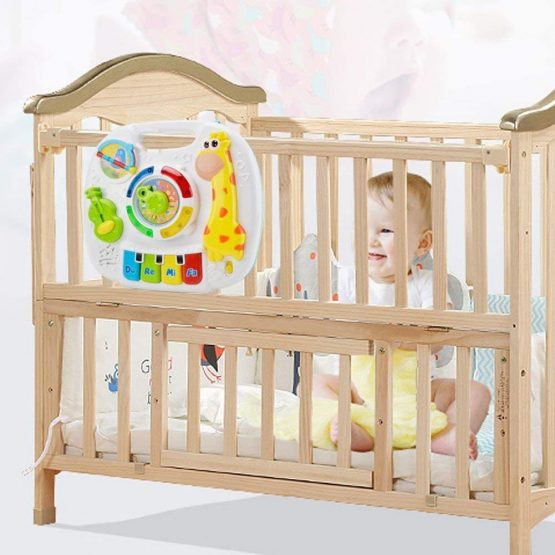 WISHTIME Learning Activity Table Music Toy 2 in 1 Early ...