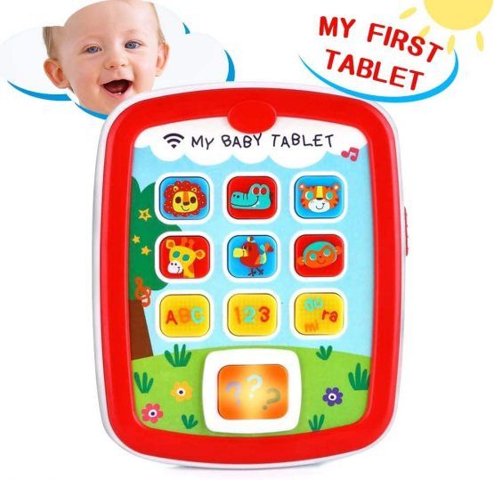 VATOS Educational Baby Tablet Music Toy Pad Baby Learning ...