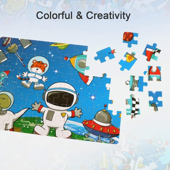 BelleStyle Wooden Jigsaw Puzzles, Jigsaw Puzzles for Kids ...