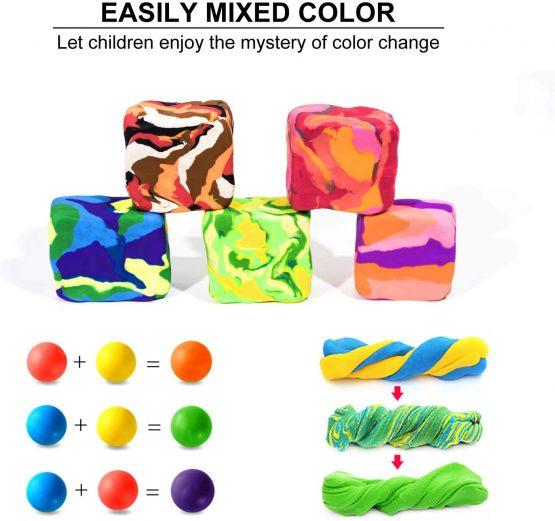 innislink Children's Dough Dough Colourful Set Bouncy ...