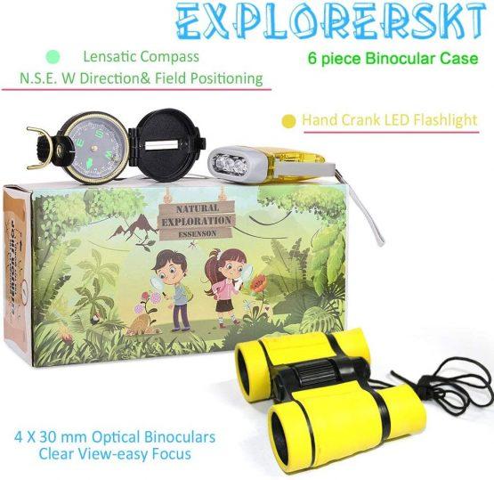 outdoor explorer kit bug catcher set with binoculars