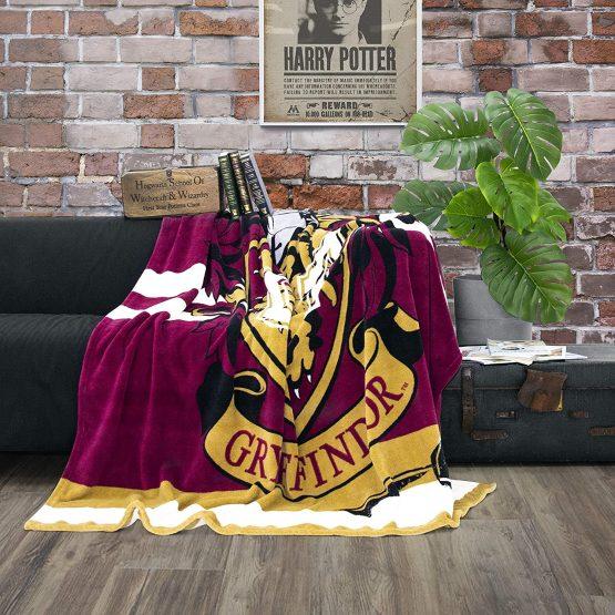 Character World Cuddly Fleece Blanket Harry Potter ...